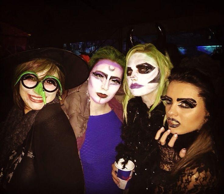 Witch, Advanced alien, Hallobitch, Black angel