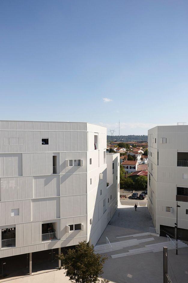 LAN . 79 Collective Housing Units . Bègles (14)