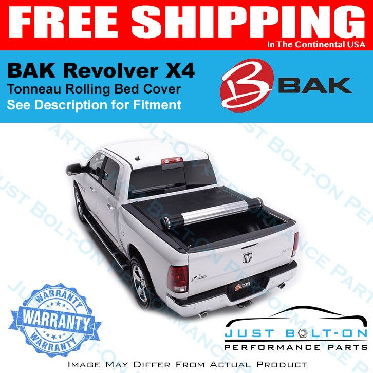 Details about BAK Revolver X4 Rolling Cover Fits 2009-2018