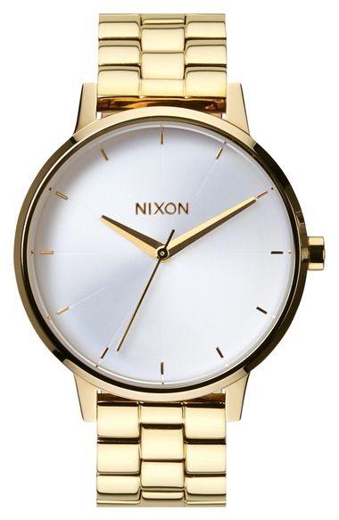 Nixon 'The Kensington' Bracelet Watch, 37mm available at #Nordstrom