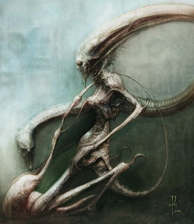 Nourish by H.R. Giger