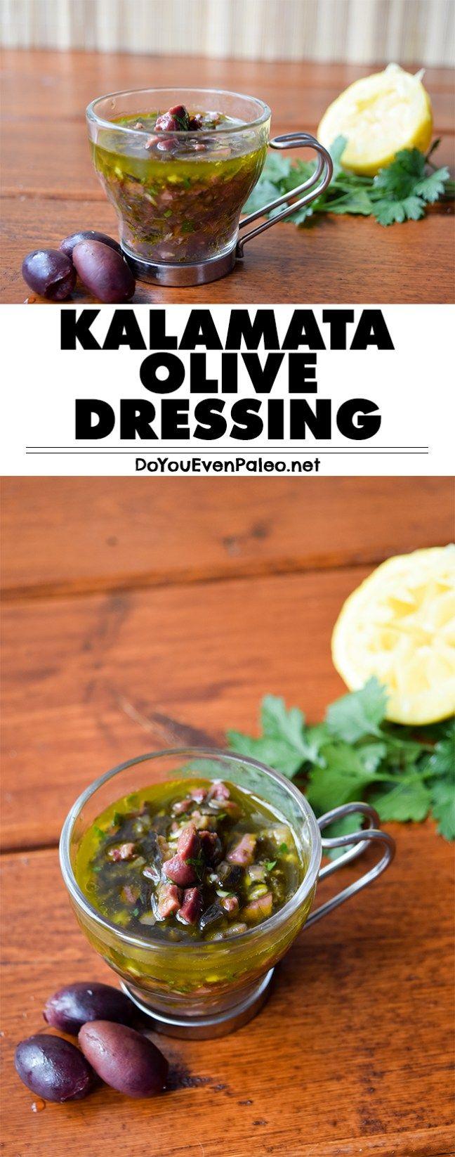 Kalamata Olive Dressing | DoYouEvenPaleo.net