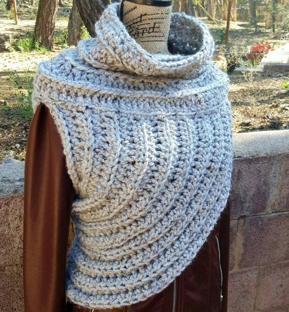 This Katniss inspired cowl.   22 Insanely Cosy Scarves To Snuggle Up In This Autumn