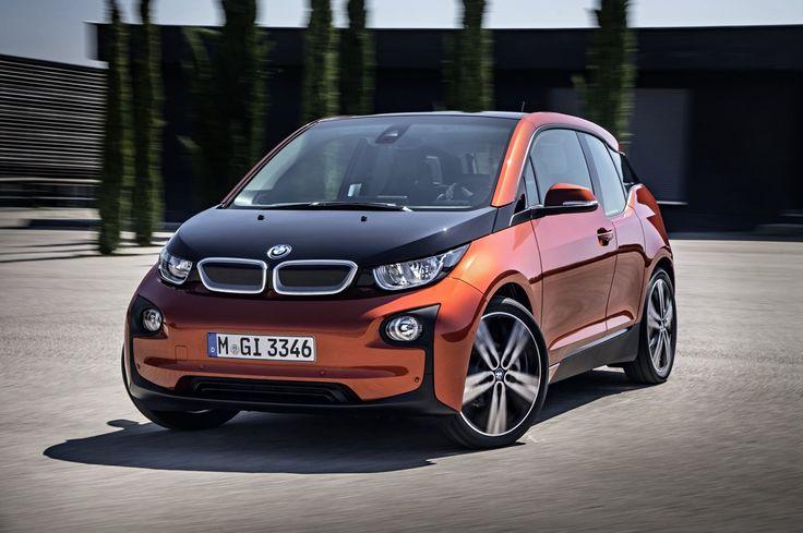 2014 BMW i3 electric car attempts a revolution....