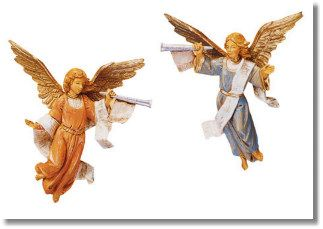 5 Inch Scale Trumpeting Angels ( Set ) by Fontanini