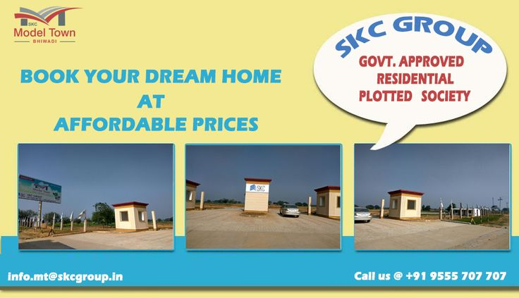 Buying land and plots in bhiwadi. If you are looking to buy land and plot in bhiwadi, buy at skcmodeltown bhiwadi for the guaranteed lowest price. Rush to buy now!
