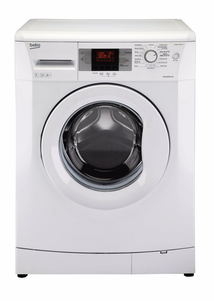 Beko WMB714422W Freestanding Front Loading The Beko WMB714422W Freestanding Washing Machine, finished in a brilliant white, can hold up to 7kg of your laundry which equates to around 35 shirts in one cycle which is astonishing for a medium siz http://www.MightGet.com/february-2017-2/beko-wmb714422w-freestanding-front-loading.asp