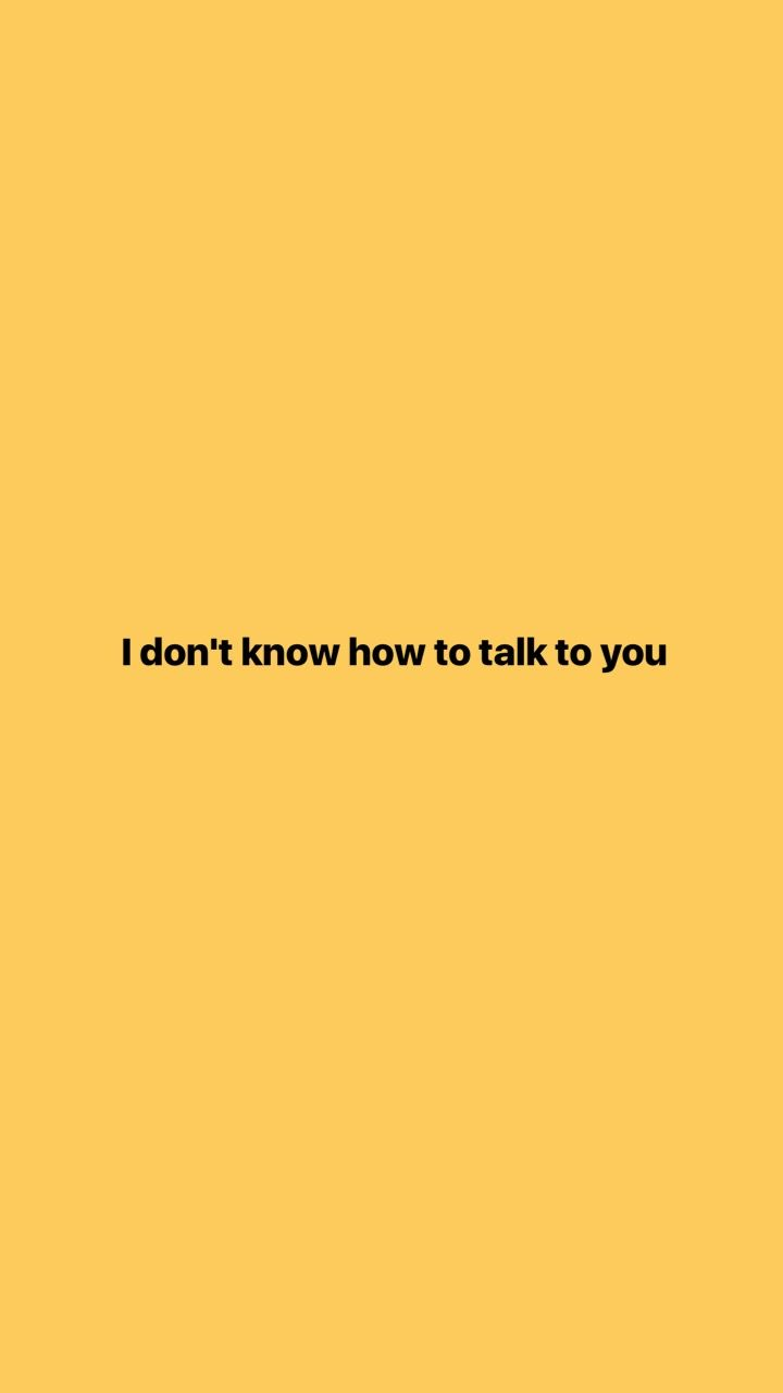 I don't know how to talk to you ∆∆∆ pinterest @Marie Krull