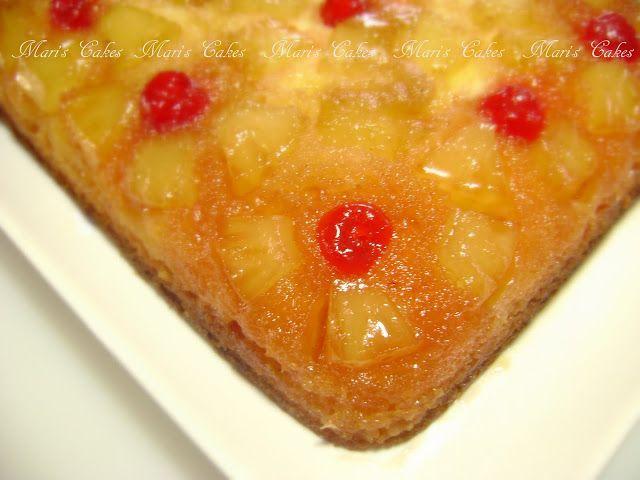 Volteado de Piña (Pineapple Upside Down Cake)