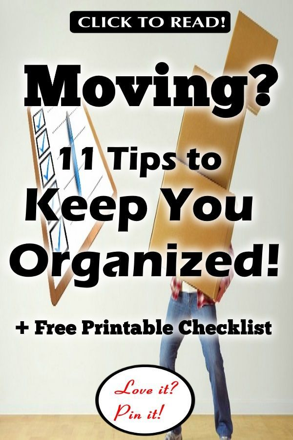 image relating to Stay Organized With a Printable Moving Checklist identified as 11 Easiest Recommendations in direction of Keep on being Ready with a Printable Relocating