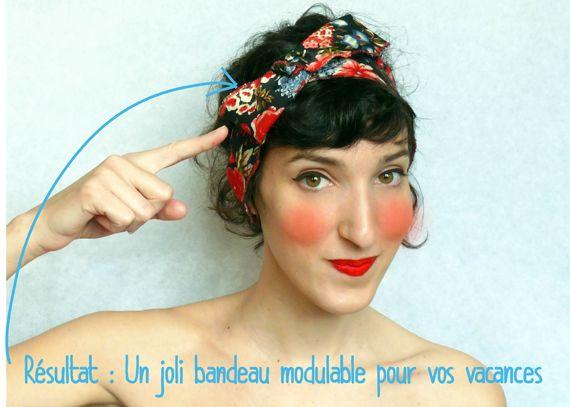 Cahier de vacances – Bandeau modulable par Adaoz | Blog français d'Etsy