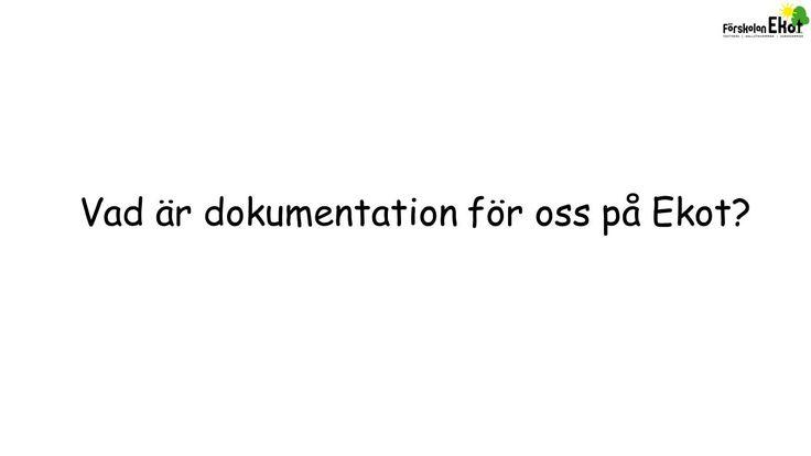 Vad är dokumentation för oss på Ekot? - ppt video online ladda ner