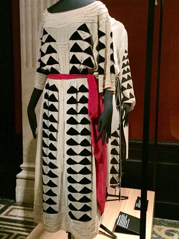 Jeanne Lanvin: Kleid um 1920, Ausstellung Palais Galliera, Paris