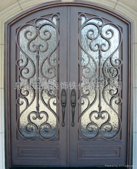 Used Iron Door Grill Designs Interior Wrought Iron Door: Best 25+ Wrought Iron Security Doors Ideas On Pinterest