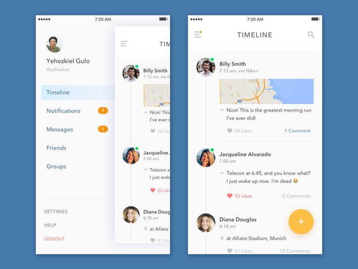 Social App – iOSUp