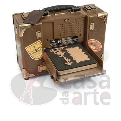 Máquina Vagabond Tim Holtz Sizzix Para corte de Papel, Tecido, Feltro, Roller e muito mais. 656850 - CasaDaArte