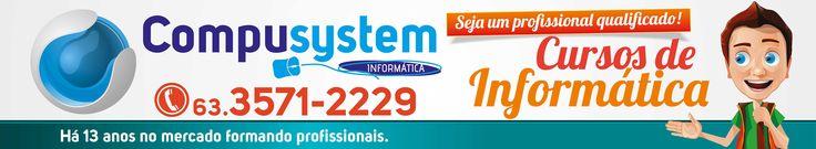 Compusystem Informatica, Palmas-Tocantins.