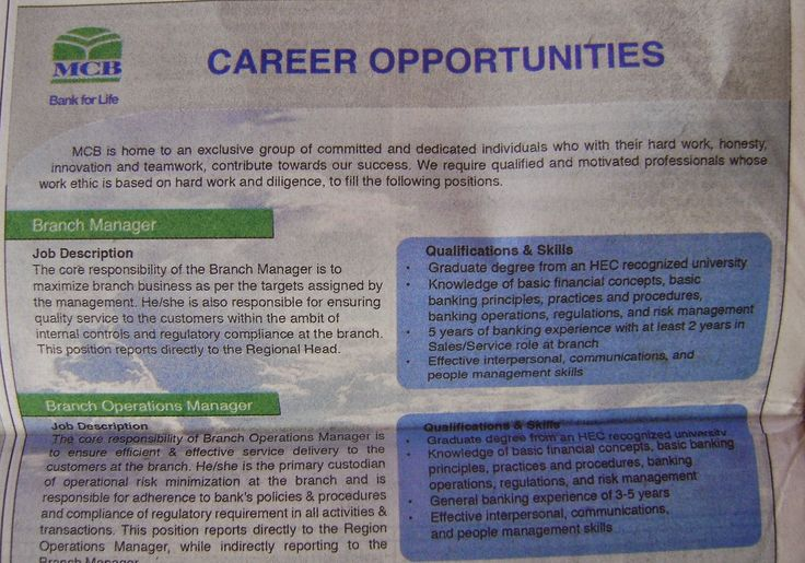 MCB Jobs,ABL,Phoenix,Manager,Home Base,Customer Jobs ~ Makup ket - branch manager job description