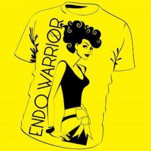 October 24, 2013 I had surgery at Center for Endometriosis Care in Atlanta, GA with Dr. Sinervo. I was diagnosed with Stage 4 Endometriosis. Before I had surgery I wanted to buy a shirt to show the world what I am going through. I search and search to find a shirt. None of them I felt showed how I felt inside. So I decided to design my own shirt and wore it on the day of my surgery. I had overwhelming response of my fellow endo sisters wanting me to make them. Lets not suffer in silence…