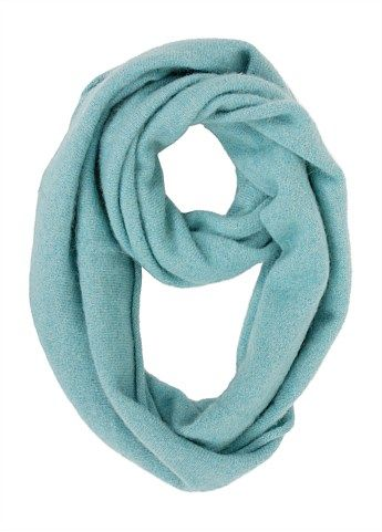 The stunning Untouched World  Dream Loop Scarf made from an exclusive blend of cashmere, dehaired possum and silk.