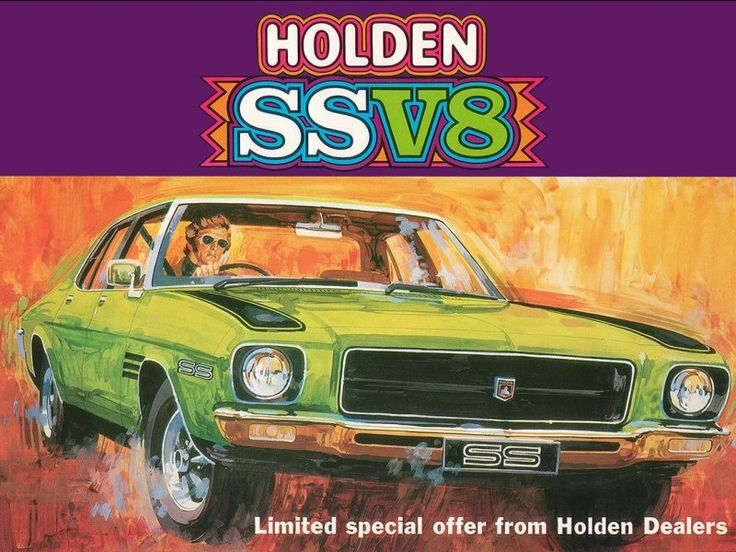 Holden HQ SS