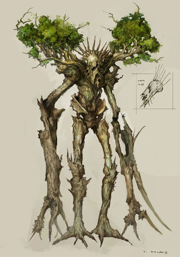 Treant Boss Oaknarl from Rift, I was drawn to this character straight away. And while part of me feels like it would make a good boss, it looks passive. Like an NPC that only attacks when you disturb or harm it.  The tree human hybrid design is just great. And the artist did a good job in giving a fantasy character a realistic look.