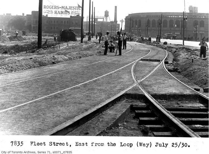 Fleet Loop S0071 It7835 Category 1930 In Toronto Wikimedia Commons Nyc History Toronto Back In Time