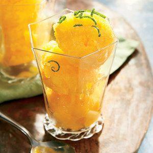 Mango-Orange Granita | MyRecipes.com