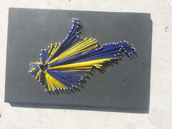 West Virginia/ University of West Virginia by ThejewelryCage
