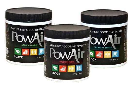 Introducing PowAir, Nature's Odor Neutralizers!
