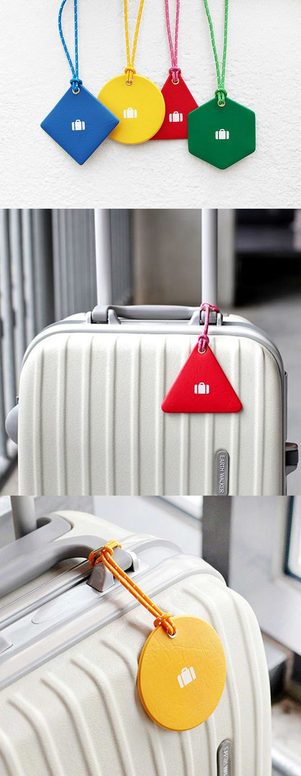 The Vivid Travel Luggage Tag is a simple and cute luggage tag! While simple in design, it makes my luggage more stylish and makes it easy to distinguish my bag from the others.