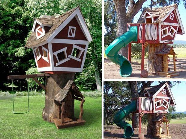 17 migliori idee su costruire un forte su pinterest - Costruire una casetta ...