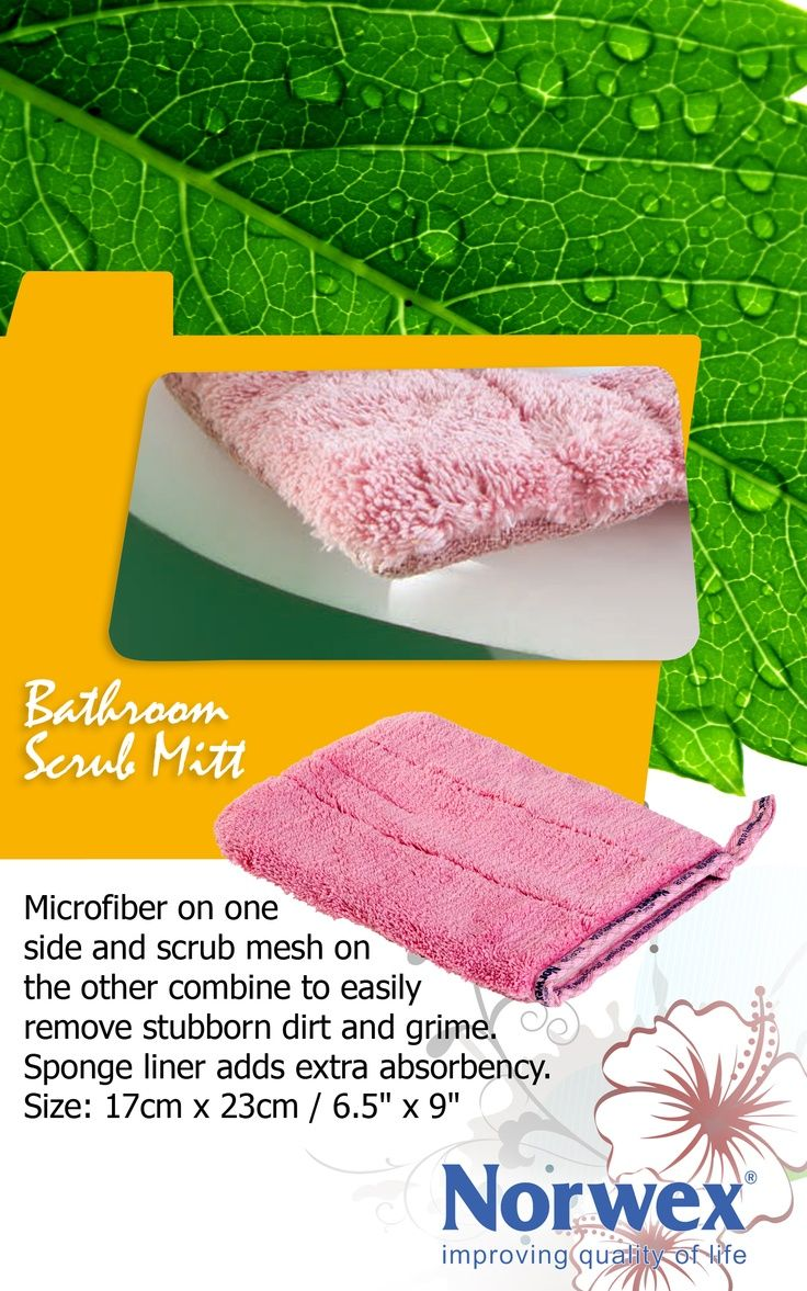 Norwex bathroom scrub mitt wwwnorwexcom antibac for How to use norwex bathroom scrub mitt