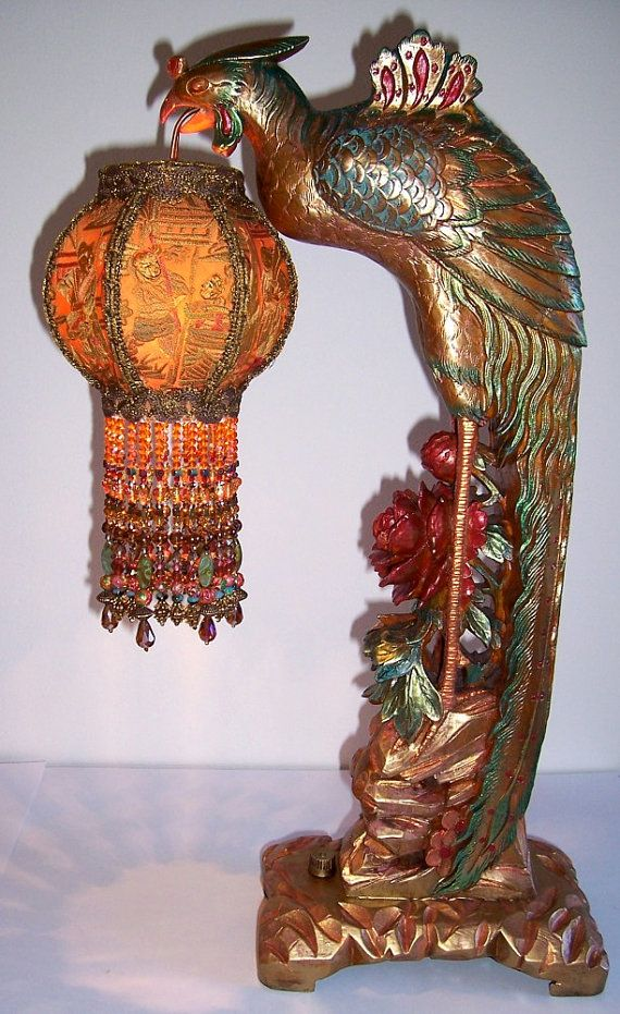 Table Lamp Lighting Antiques