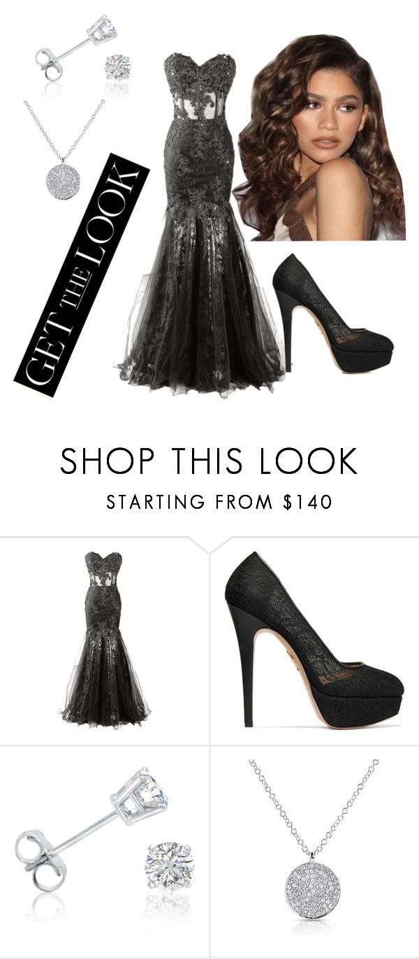 """Get the Look: Met Gala 2016"" by charming-charm ❤ liked on Polyvore featuring Charlotte Olympia, Coleman, Amanda Rose Collection, GetTheLook and MetGala"
