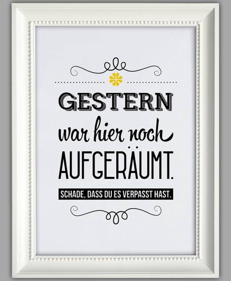 "SMART-ART ★ Kunstdruck ""Aufgeräumt"" – Frau Frosch"