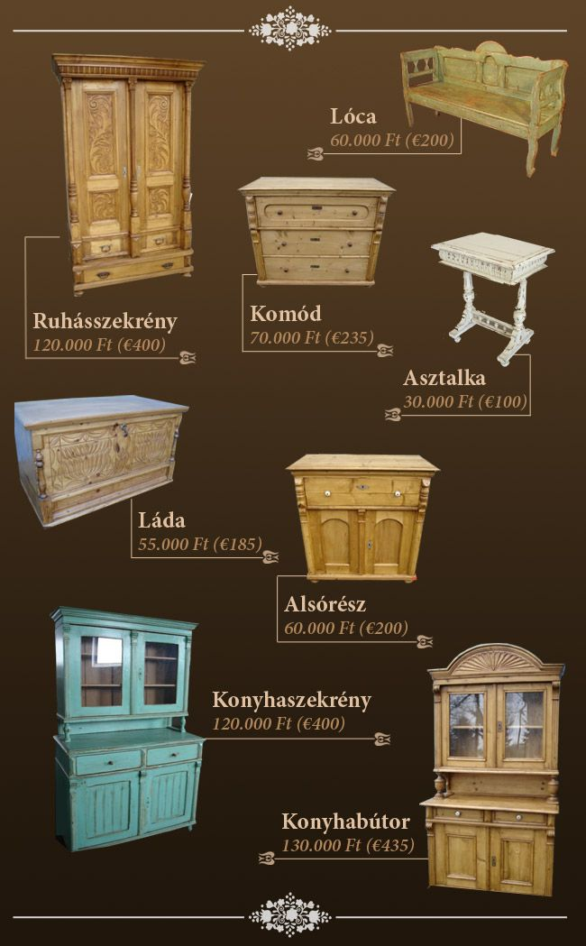 ANTIQUE PINE FURNITURE: the atmosphere of ancient times - Hungarian Antique Pine