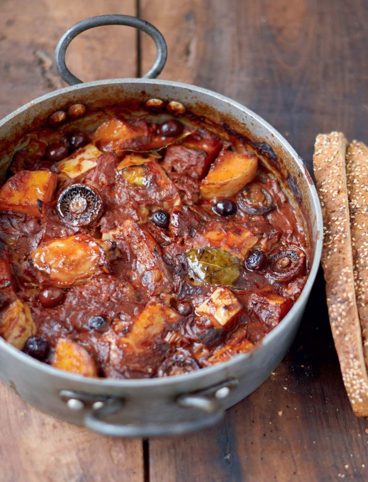RECIPE: Chicken and Squash Cacciatore #JamieOliver #Recipe