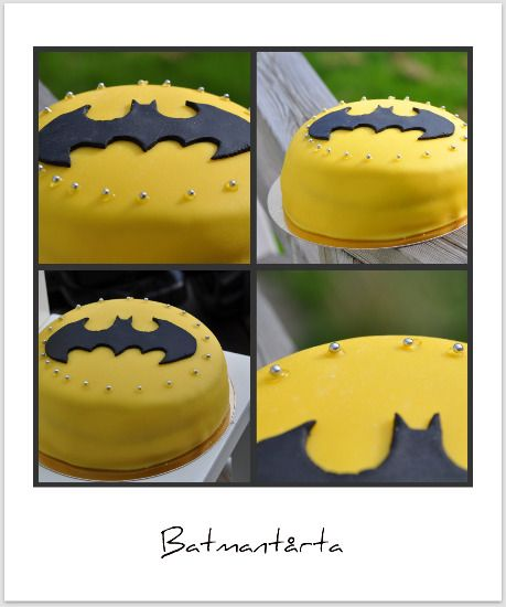 - Batman cake -