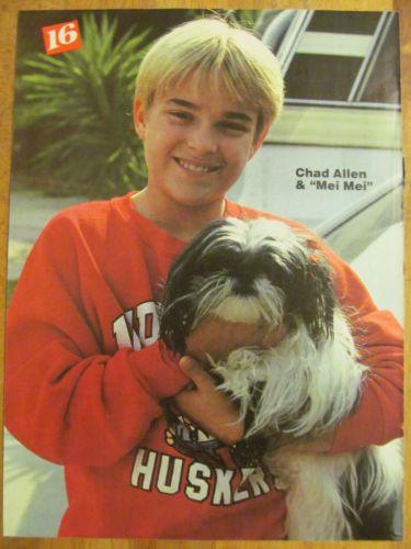 Chad Allen, Full Page Vintage Pinup   Entertainment Memorabilia, Television Memorabilia, Clippings   eBay!