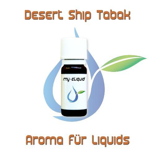Desert Ship Tabak Aroma | My-eLiquid E-Zigaretten Shop | München Sendling