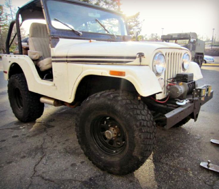 1970 Jeep CJ5 4x4 On GovLiquidation
