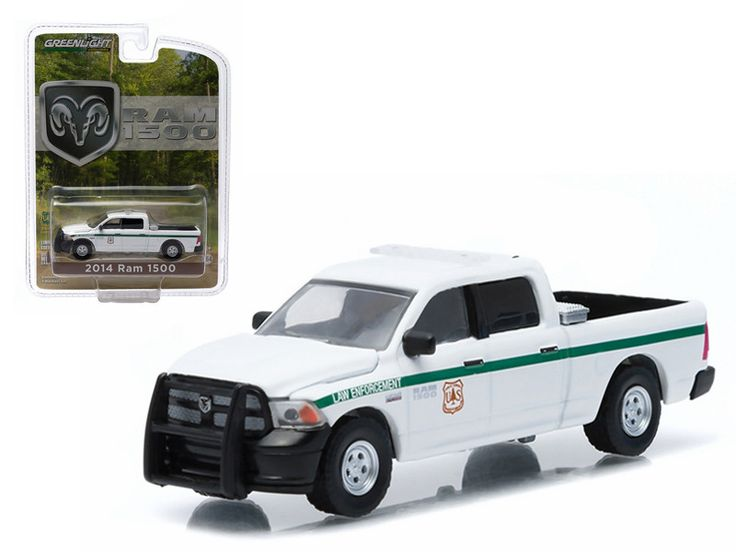 "2014 Dodge Ram 1500 United States Forest Service Police (USFS) \Hobby Exclusive"" 1/64 Diecast Model by Greenlight"""