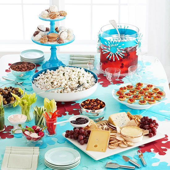 We've got plenty of easy appetizer ideas, plus tips to help you throw a fresh, fun party from start to finish.