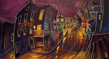 George Street, a limited edition print by artist Adam Young. Visit us at www.newfoundlandshop.ca