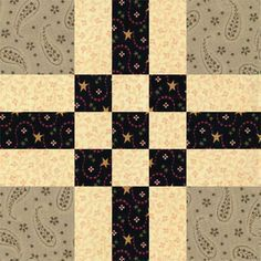 It's a Cinch to Sew a Batch of Easy Center Nine Patch Quilt Blocks: Learn How to Make Center Nine Patch Quilt Blocks