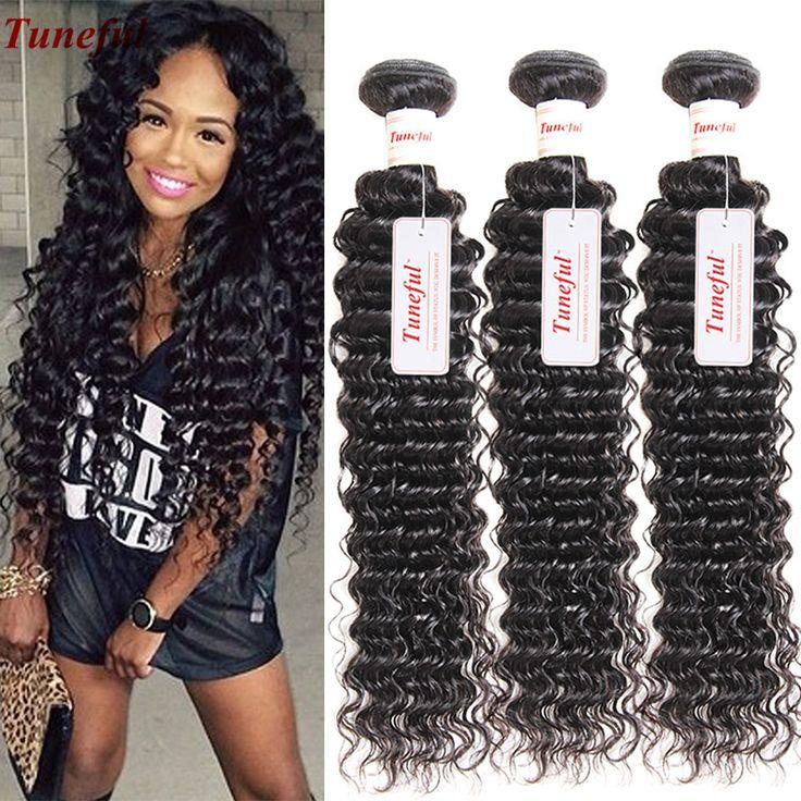 Peruvian Deep Wave Virgin Hair Mink Wet And Wavy Human Hair 3 Bundle Deals Cheap Weave 8-30 Inches Pervian Peerless Virgin Hair