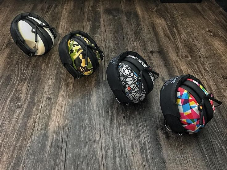 Banz Protective Earmuffs fold up when not in use - easy to carry, lightweight, comfy and heaps of gorgeous colours!  (  @sennmama via @latermedia )
