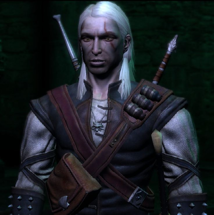 Geralt close-up