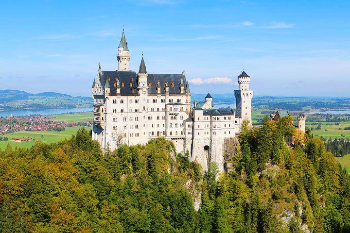 Neuschwanstein Castle, Germany { Sleeping Beauty's Castle } - day trip from Munich